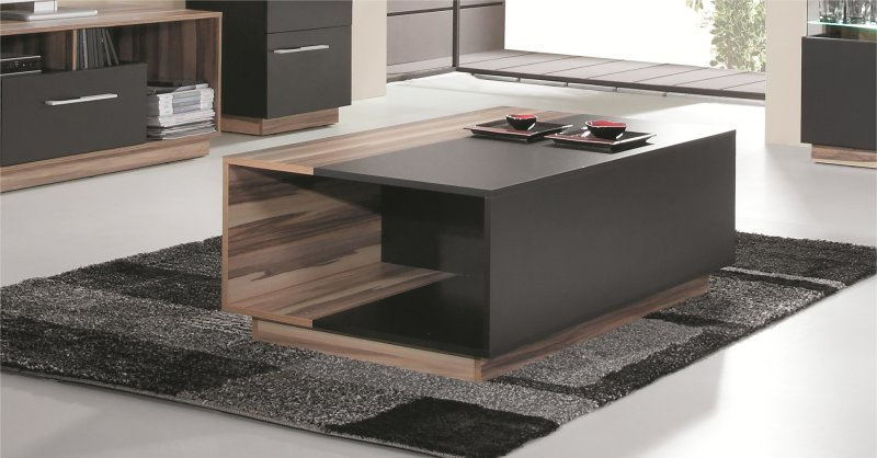Table basse salon design bois