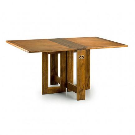Table basse pliante bois exotique