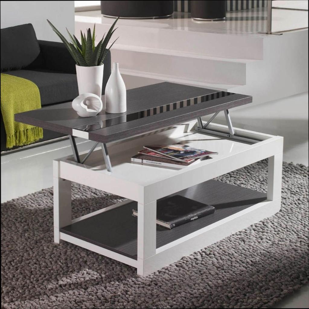 Table basse avec tablette relevable ikea