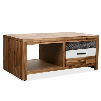Vidaxl table basse en bois d'acacia