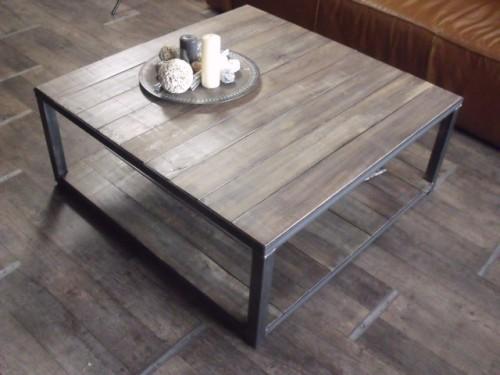 Table basse meuble bois