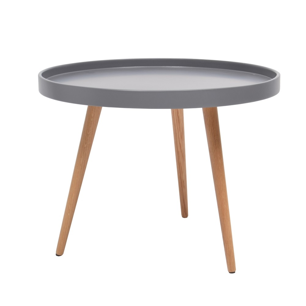 Table basse style scandinave rouge