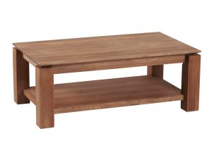 Table basse teck cocktail scandinave