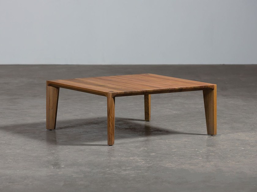 Table basse bois 1940