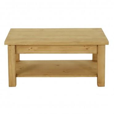 Table basse en bois montagne
