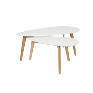 Peindre table basse scandinave