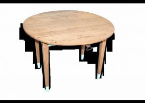 Table basse scandinave carrefour