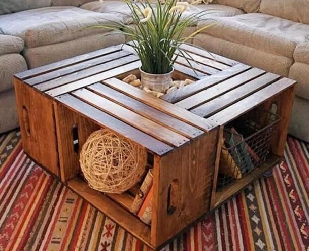 Comment faire une table basse en bois flotté