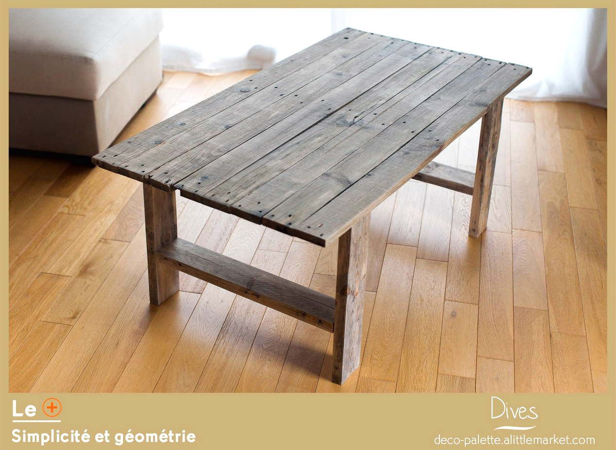 fabriquer sa table basse de jardin en bois. Black Bedroom Furniture Sets. Home Design Ideas