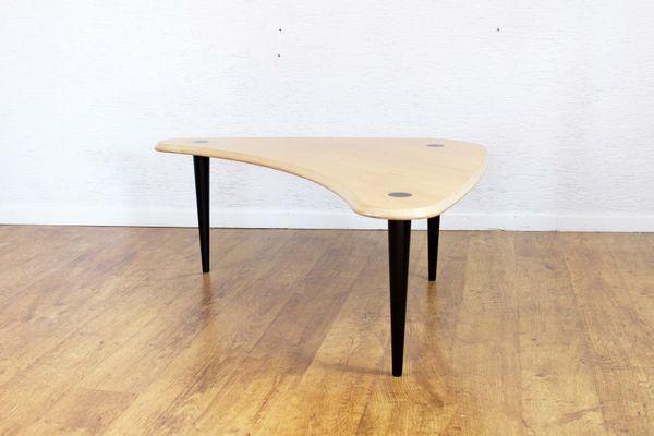 Table basse boomerang scandinave