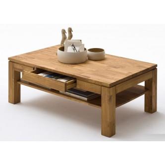Table basse bois a tiroir