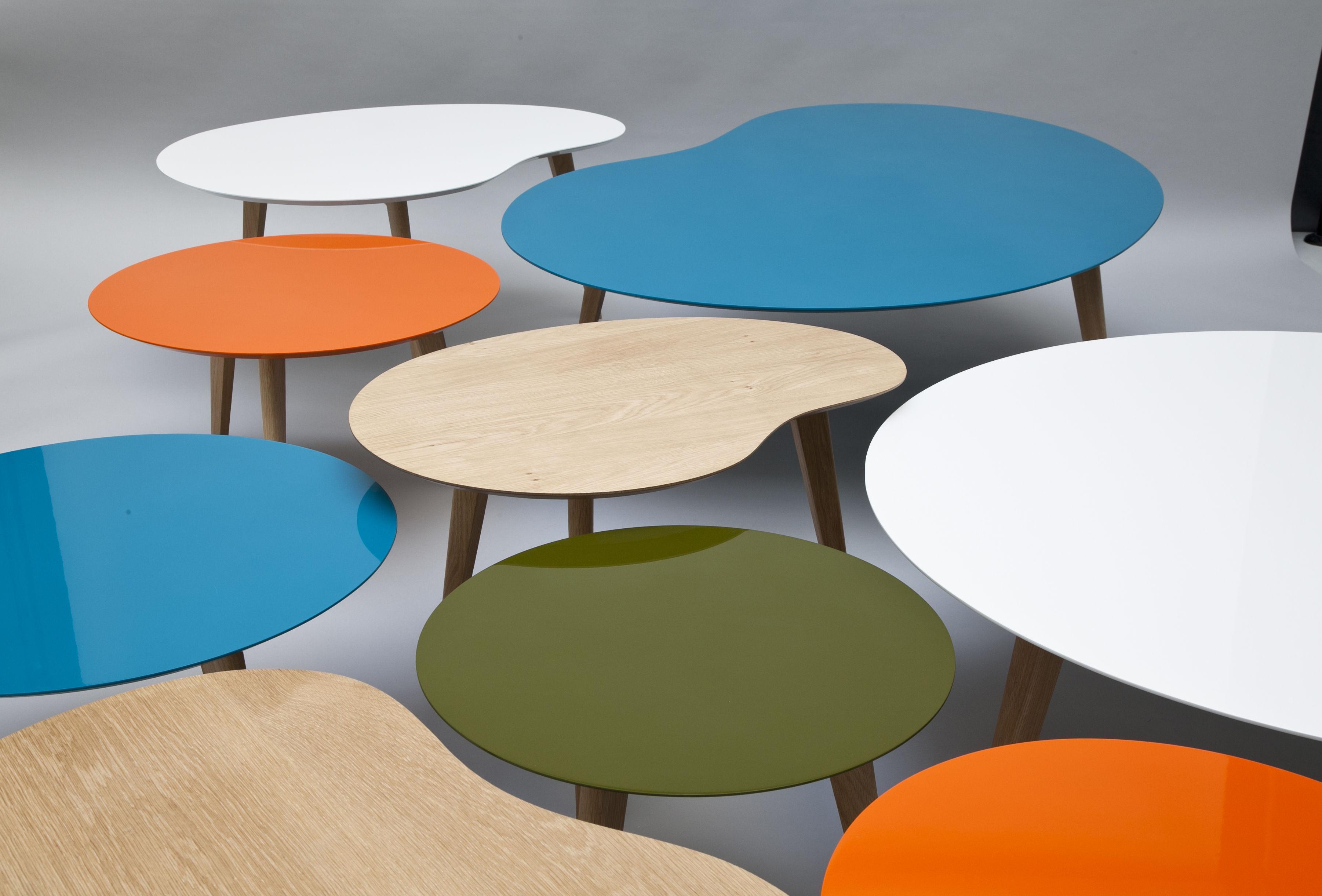 Table basse bois style ethnique
